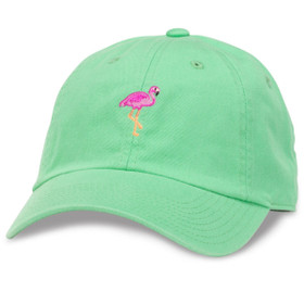 American Needle - Festive Flamingo Baseball Cap