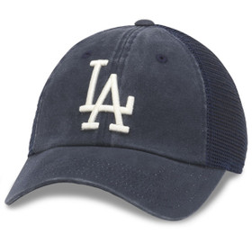 American Needle - LA Dodgers Distress Mesh Baseball Cap