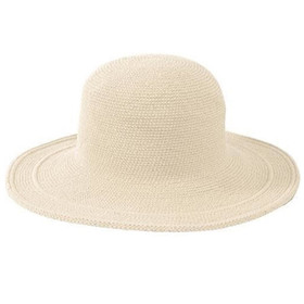 San Diego Hat Company - Cotton Crochet Sun Hat in Natural