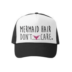 Grom Squad - Mermaid Hair Don't Care Little Girl Trucker Hat