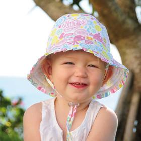 Kooringal - Blossom Bucket Hat Model