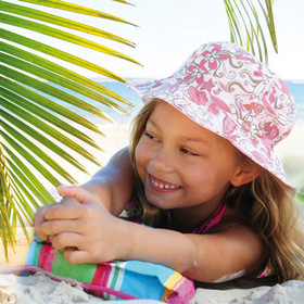 Malia Surf Pink Bucket Hat