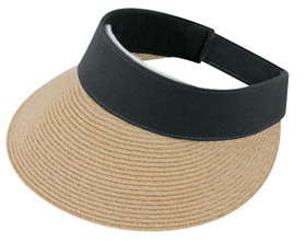 Jeanne Simmons - Black Canvas Toyo Visor