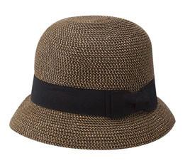 Jeanne Simmons - Tweed Cloche Hat Brown
