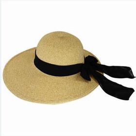 California Hat Company - Toyo Visor Hat with Ribbon