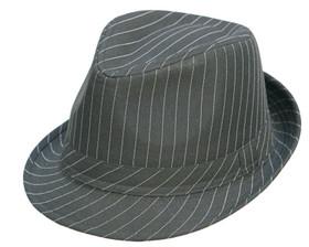 Kenny K - Pinstripe Fedora Hat