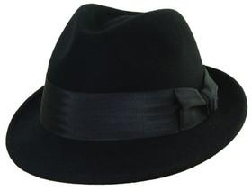 Dorfman Pacific - Sinatra Felt Fedora Black