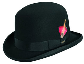 Scala - Wool Felt Bowler Hat