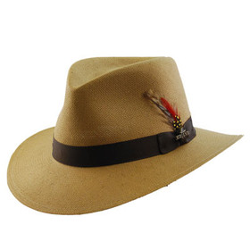 TLS Stefeno - Phillip Toffee Faux Panama Hat - Style
