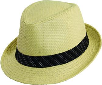Dorfman-Pacific - Low Crown Fedora Hat - Sand