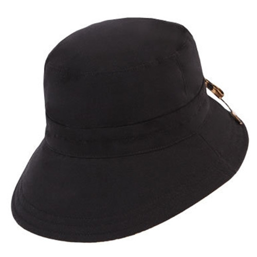 Kooringal - Ladies Reversible Golf Hat in Black
