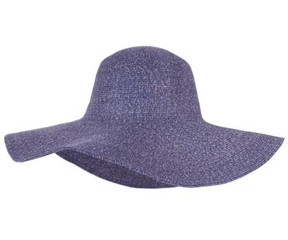 Kooringal - Jackie O Wide Brim Hat, Denim
