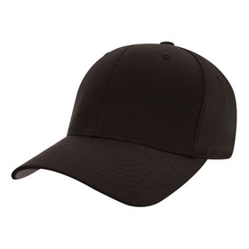 Flexfit - Black Wooly Combed Twill Cap
