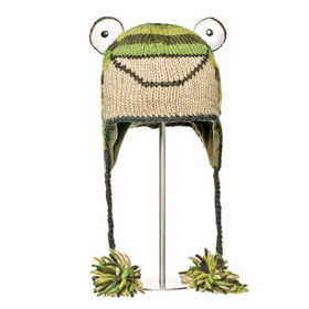 Knitwits - Ferny The Frog Hat