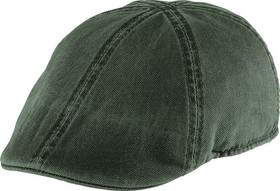 Henschel - Olive Distressed Duckbill Cap
