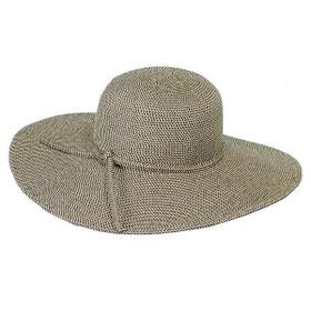 """Jeanne Simmons - Black Tweed 4"""" Brim Hat"""