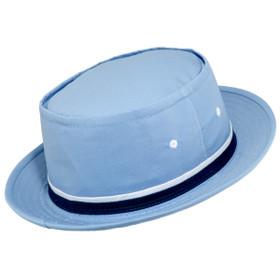 Dorfman Pacific - Roll up Bucket Hat - Light Blue