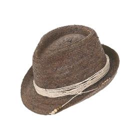 Peter Grimm - Brown Siesta Key Fedora Hat