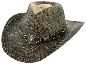 Kenny K - Flower Studded Cowboy Hat