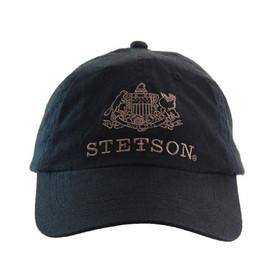 Stetson - Black Baseball Cap - Front