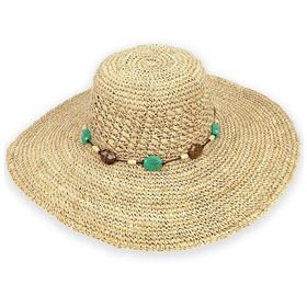 Sun 'N' Sand - Big Brim Raffia Sun Hat