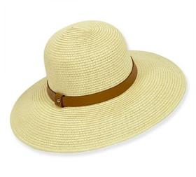 Sun 'N' Sand - Natural Kalliste Paper Braid Sun Hat