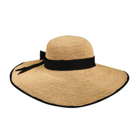 Callanan - Crochet Raffia Big Brim Sun Hat
