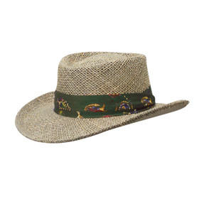 Scala - Gambler Golf Sun Hat