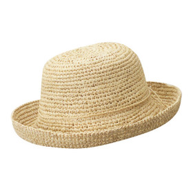 Dorfman Pacific - Natural Crochet Raffia Hat