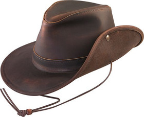 Henschel - Aussie Leather Safari Hat
