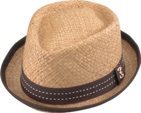 Who Ced - Loughborough Raffia Fedora