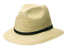 Scala - Raffia Safari Hat