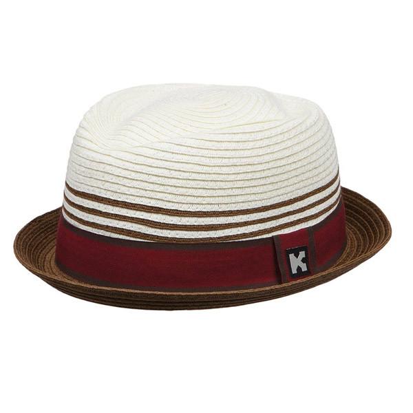 Kenny K - Toyo Stingy Brim Fedora Hat - Full View