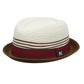 Kenny K - Toyo Stingy Brim Fedora Hat - Full View