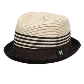 Kenny K - Stingy Brim Toyo Fedora - Full View