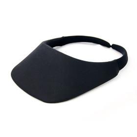 No Headache - Black Original Square Brim Visor
