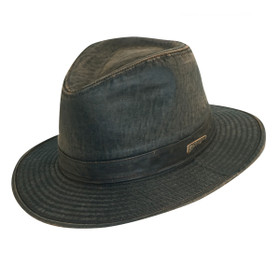 Dorfman Pacific - Indiana Jones Weathered Cotton Fedora