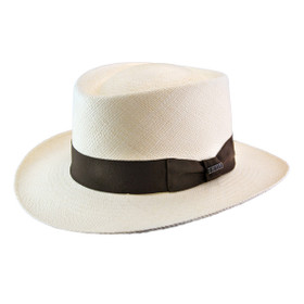 Bigalli - Natural Panama Explorer Gambler Hat
