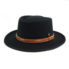 Bigalli - Dixie Wool Felt Gambler Hat