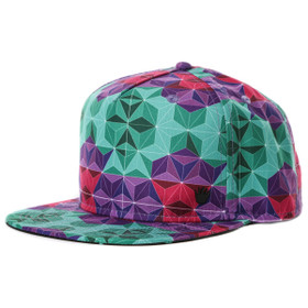No Bad Ideas - Geoprismic Snapback Hat