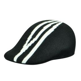 Kangol - Black Dorsal Stripe 507 Cap Main