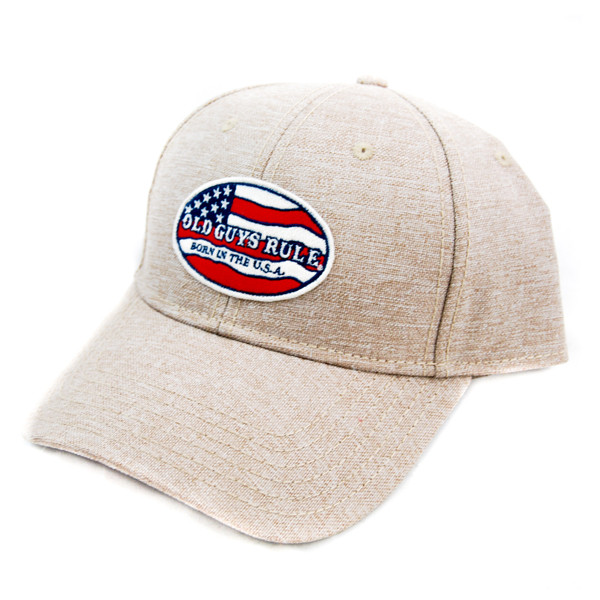Old Guys Rule - Born in the USA Cap