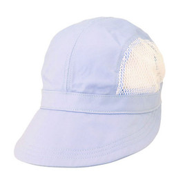 Dorfman Pacific - Cotton Sport Hat With Mesh Light Blue