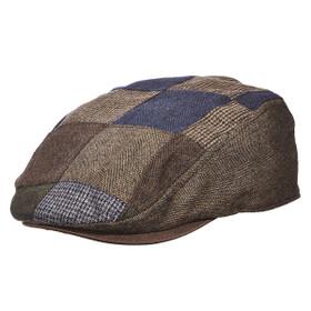 Dorfman Pacific - Wool Plaid Ascot Cap