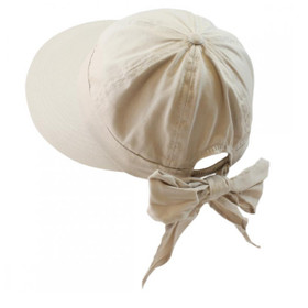 California Hat Company - Beige Ladies Cotton Scoop Hat
