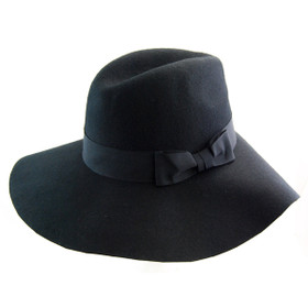 Something Special - Wool Felt Oversized Fedora Hat Main