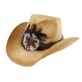 California Hat Company - Raffia Cowboy Hat