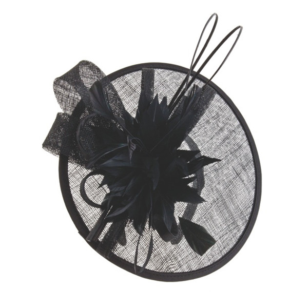 Something Special - Sinamay Fascinator with Feathers and Quills