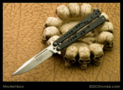 Microtech Dragonfly Balisong - SW PE #014