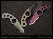 Warren Thomas - Perrin LaGriffe - Ti/Pale Green G10